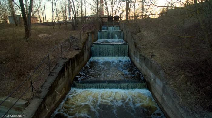 Сброс загрязненной воды в Волгу Нижний Новгород, Охрана природы, Пофигизм, Длиннопост