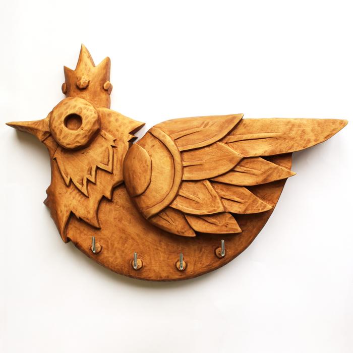 Резьба по дереву. Ключница Bird Резьба по дереву, Ключница, Своими руками, Липа, Длиннопост