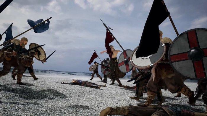 Valhall - Королевская Битва Викингов Valhall, Компьютерные игры, Steam, Копьютерные игры Steam, Королевская битва, Видео, Длиннопост