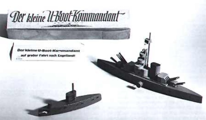 Игра «Юный командир подлодки» Германия, Военные игры, Детские игры, История, Флот, Длиннопост