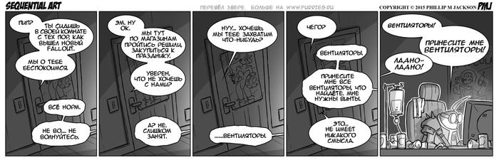 Sequential Art (928 – 938) Фурри, Комиксы, Рождество, Jollyjack, Sequential Art, Черно-Белое, Длиннопост