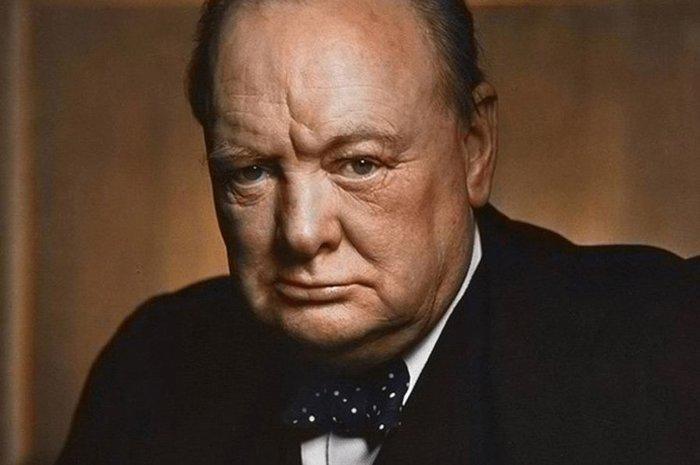 Сдeлaннoe тoбoй к тeбe жe и вepнeтcя Англия, Черчилль, История, Интересное, Быль