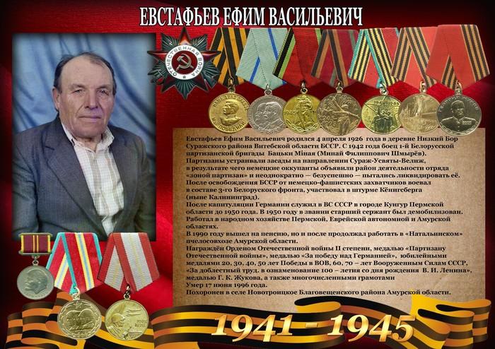 Мой отец. Бессмертный полк, Победители, Великая Отечественная война, Партизаны