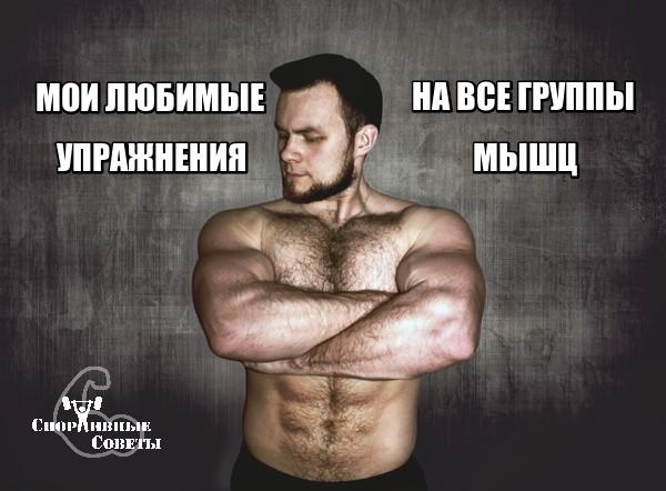Мои любимые упражнения на все группы мышц Спорт, Тренер, Спортивные советы, Тренировка, Видео, ЗОЖ, Качалка, Мышцы, Длиннопост