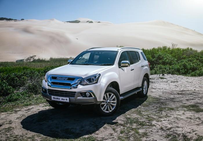 В Россию хотят привезти нового рамного «японца» Авто, Новинки, Isuzu MU-X, Длиннопост