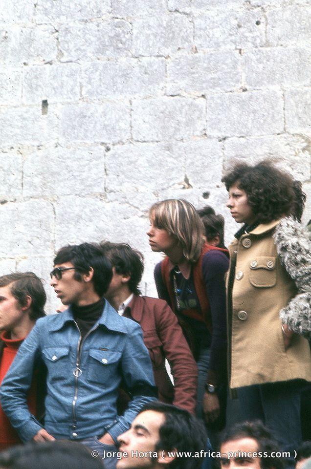 Фотографии Апрельской революции в Португалии Историческое фото, Португалия, Лиссабон, Революция, Революция гвоздик, Военные, 25 апреля 1974, 1974, Длиннопост