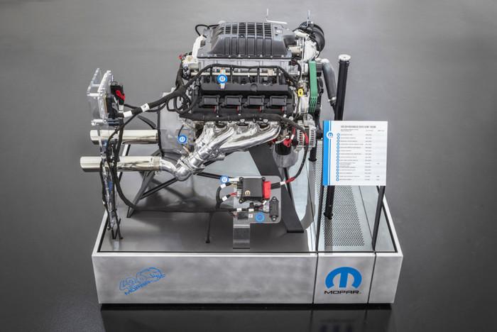 Названа цена 1000-сильного мотора Hellephant Тюнинг, Hellephant, Fca, Mopar, Длиннопост, Двигатель