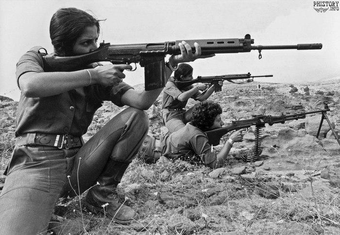 Женщины Ливана против палестинских террористов - история героизма История, Ливан, Гражданская война, Христианство, Мусульмане, Женщина, Армия, Видео, Длиннопост