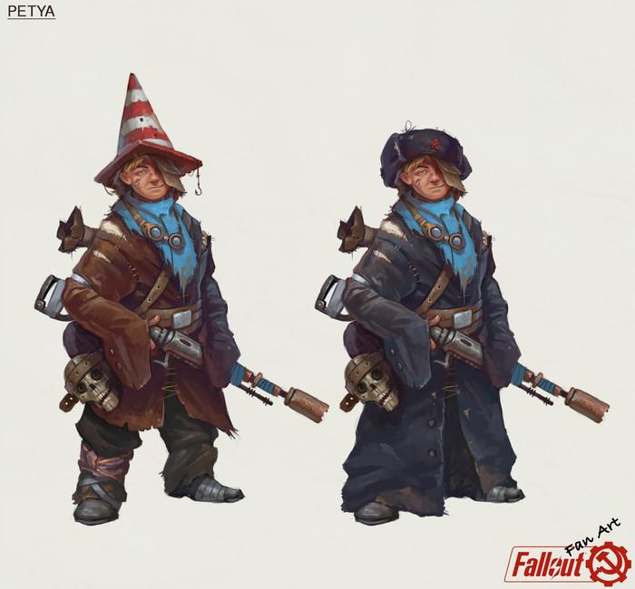 Советский Fallout Fallout, Игры, Арт, Длиннопост