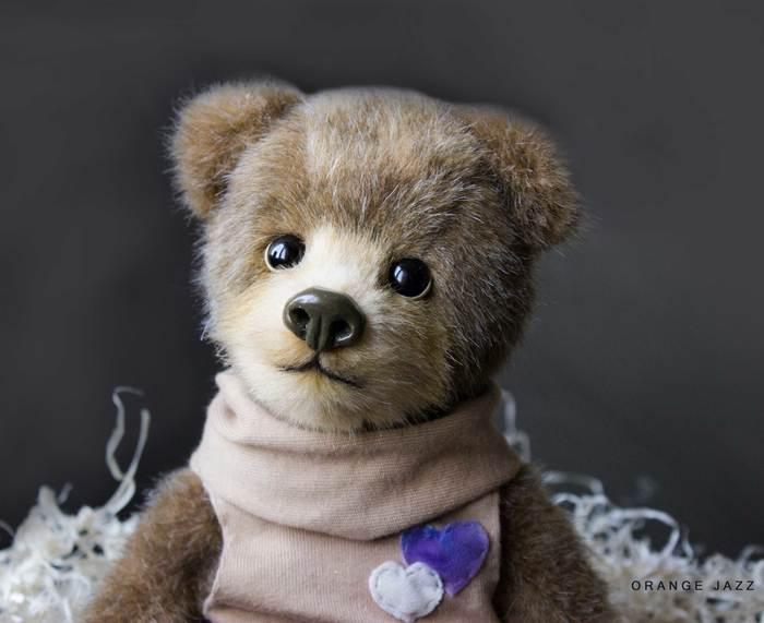 Мишка Мягкая игрушка, Авторская игрушка, Мишка тедди, Ручная работа, Рукоделие без процесса, Длиннопост