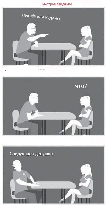 Быстрое свидание ...Челлендж