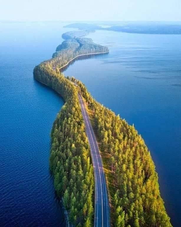 Природный мост, Финляндия