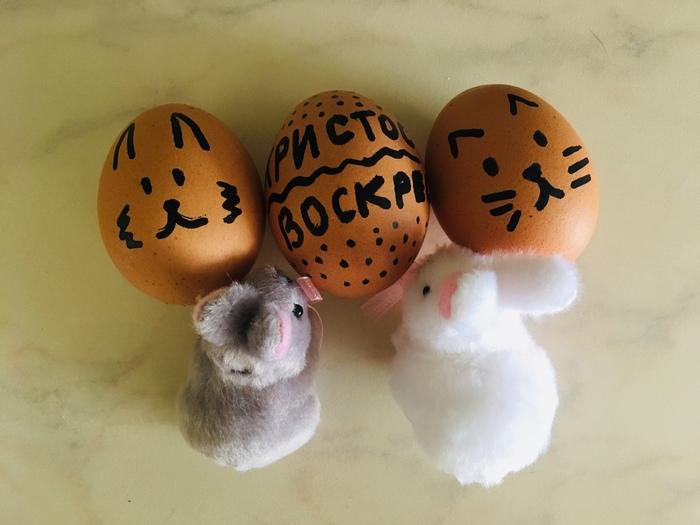 Когда Пасха настала нежданно-негаданно, а ты не успел/забыл покрасить яйца... Пасха, Христос воскрес, Рукожоп, Начинающий художник
