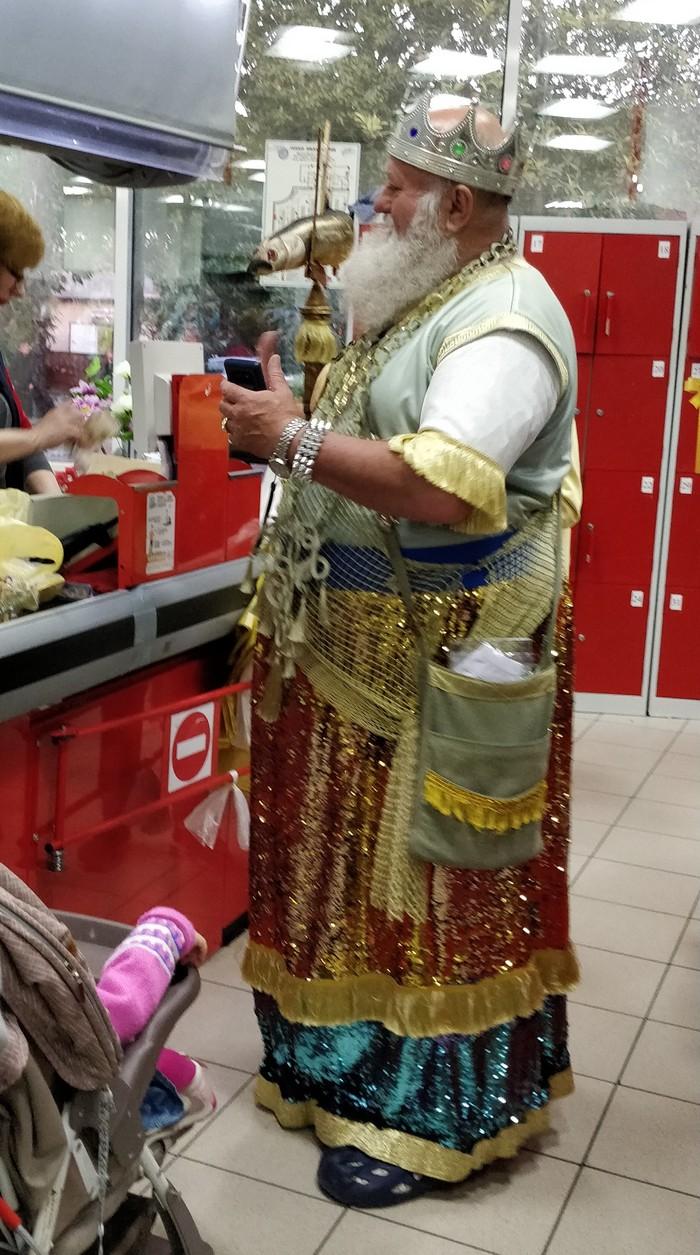 Когда морскому царю захотелось картошки Нептун, Супермаркет, Длиннопост