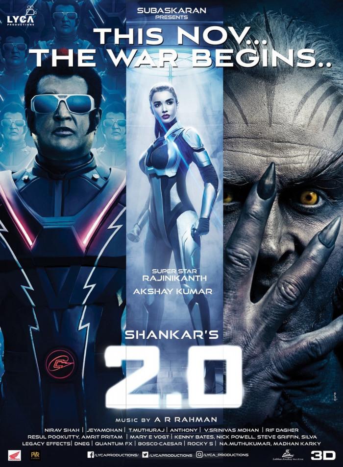 """«Робот» (2010) и """"Робот 2.0"""" (2018) - тамильские блокбастеры Робот, Колливуд, Айшвария Рай, Индия, Блокбастер, Индийское кино, Трейлер, Фантастика, Видео, Длиннопост"""
