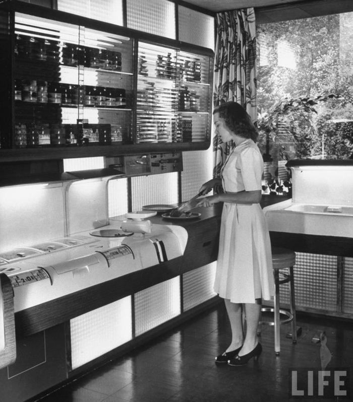 Кухня будущего из прошлого Мебель, Кухня, Будущее, Инновации, Прогресс, Длиннопост