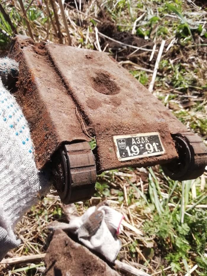 Первая находка с металлоискателем Металлоискатель, Находка, Кран, Игрушки, Длиннопост