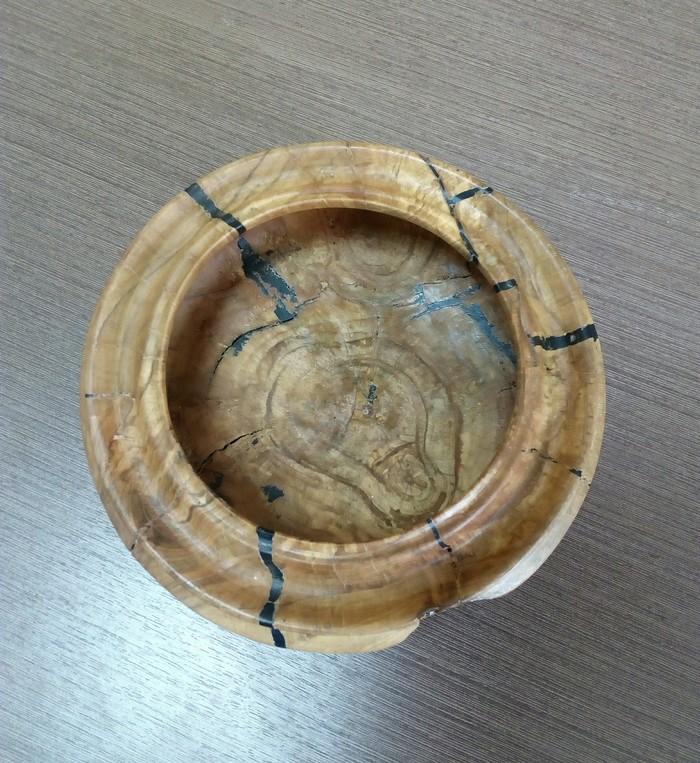 Конфетница из старой яблони. Изделия из дерева, Своими руками, Декор, Конфетница, Длиннопост