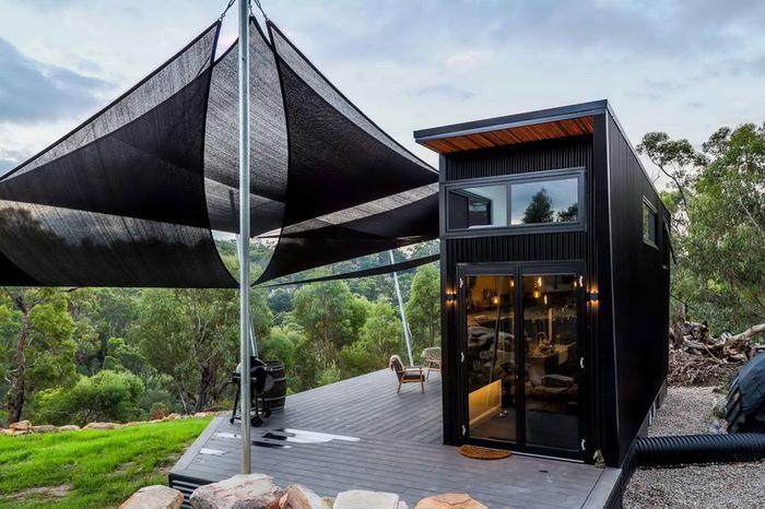 Как на 21 кв. м разместить 2 спальни, гостиную, кухню и ванную Австралия, Жилой дом, Строительство, Дизайн, Длиннопост