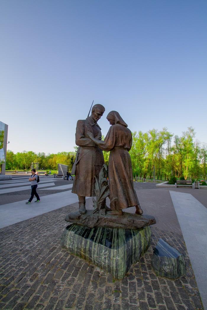 Памятник ВОВ. Минск