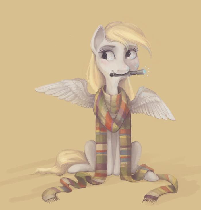 Derpy who? My Little Pony, Доктор Кто, Derpy Hooves, Crossover