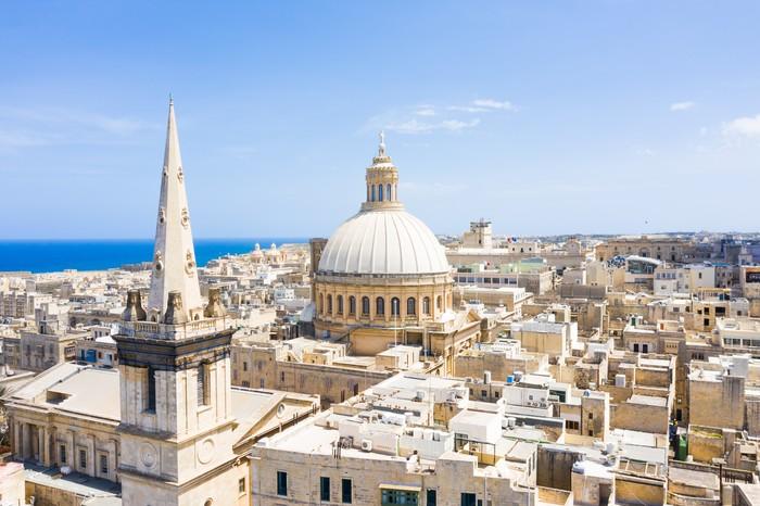 Валлетта, Мальта Дрон, Квадрокоптер, Мальта, Аэросъемка, Работа, Путешествия