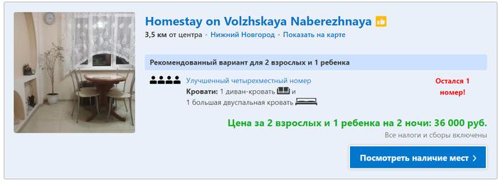 Ребят, а что сейчас вообще происходит в Нижнем Новгороде? Нижний Новгород, Выходные, Booking, Цены, Гостиница, Отель, Длиннопост