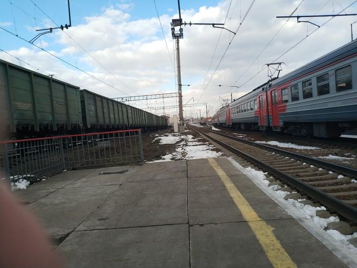 Люблю поезда