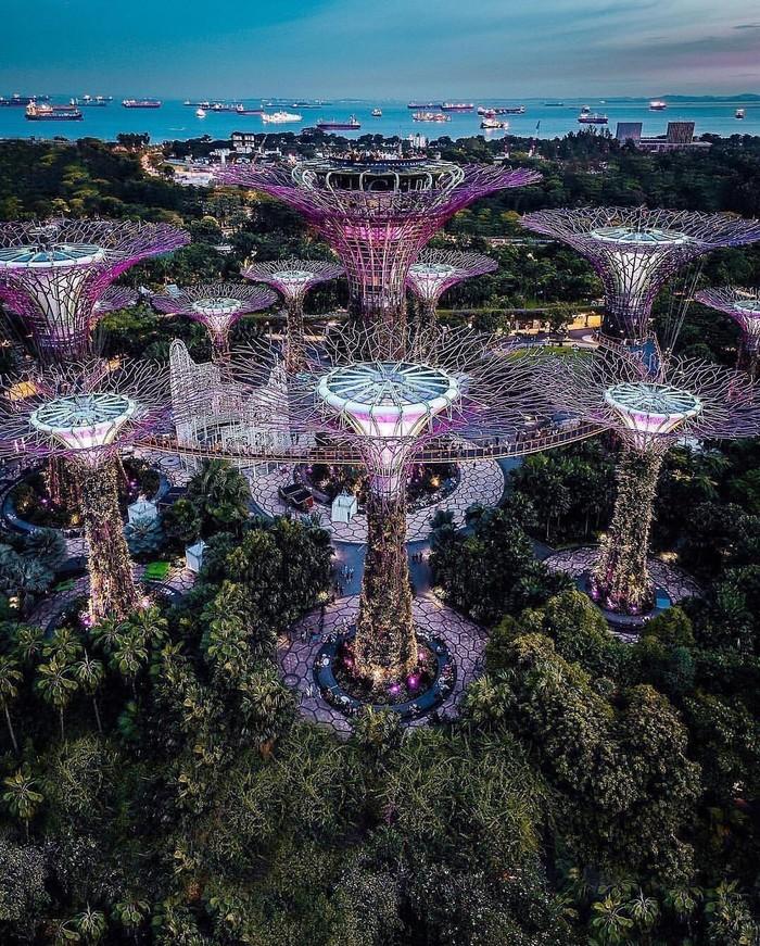 Сингапур. Архитектура, Сингапур, Фотография, Длиннопост
