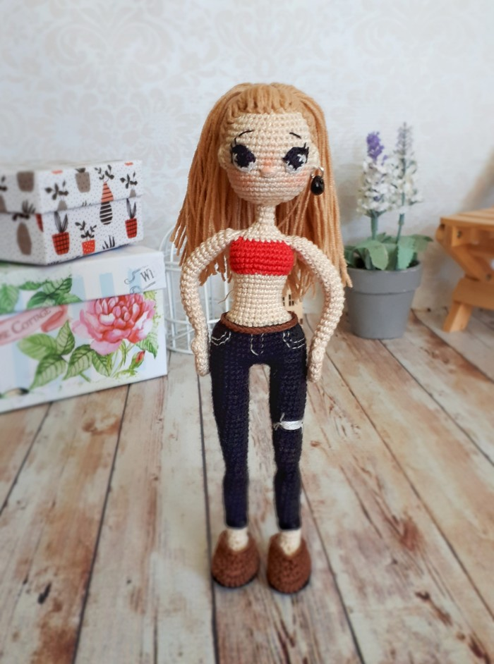 Очередная куколка крючком. Кукла, Вязание крючком, Рукоделие без процесса, Игрушки, Длиннопост