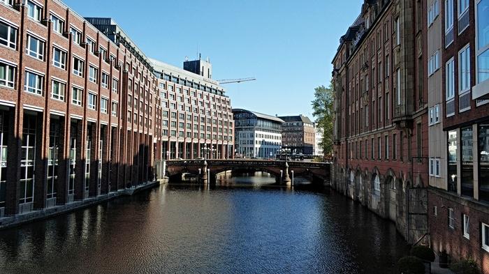 Один день в Гамбурге (часть 1) Гамбург, Германия, Туризм, Тоннель, Подводная лодка, Длиннопост