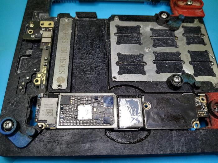 IPhone 7 / 7 plus восстановление аудиокодека Iphone 7, Аудиокодек, Bga, Ремонт телефона, Длиннопост, Астана