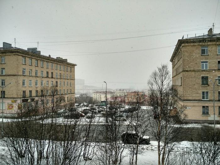 Весна в самом разгаре Весна, Снег, Погода, Североморск, Мурманская область, Заполярье