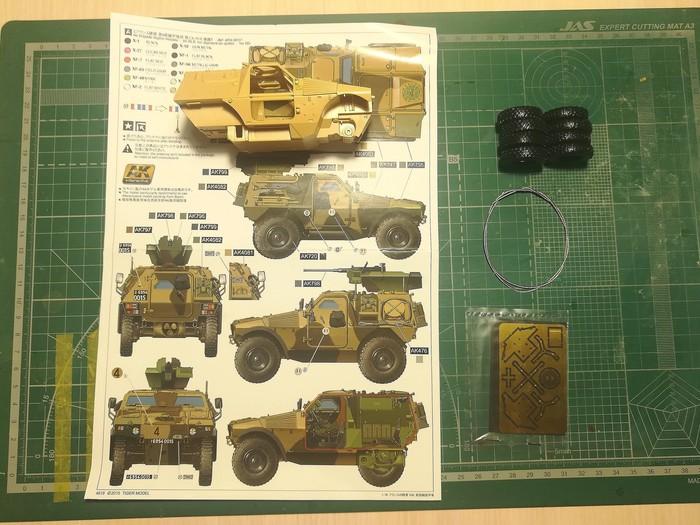 Броневик Panhard VBL от Tiger Model, 1/35. Tiger model, Модели, Броневик, Длиннопост, Масштабная модель