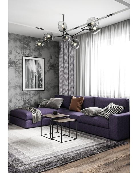 Технический дизайн проект интерьера 2х комнатной квартиры