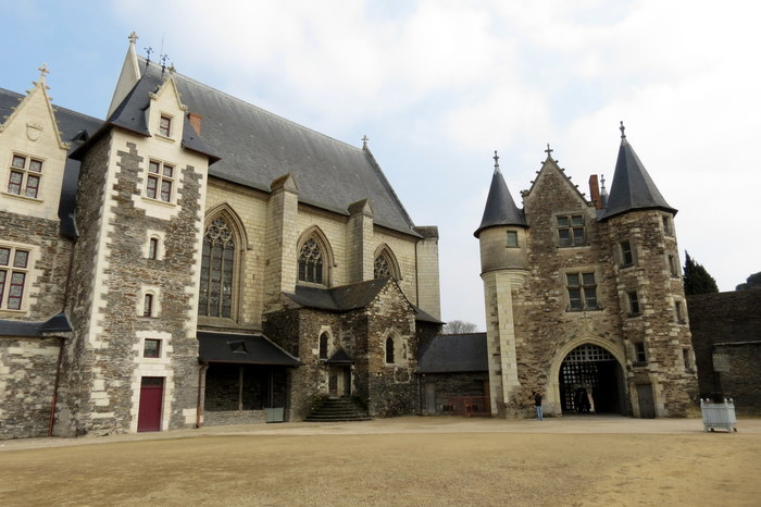 Анжерский замок, Франция Замок, Франция, Средневековье, Длиннопост
