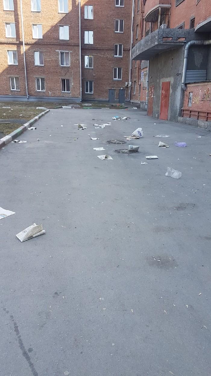 """""""Новосибирск стоит на пороге мусорного коллапса"""" Новосибирск, Газеты, Мусор, Парадокс, Длиннопост"""