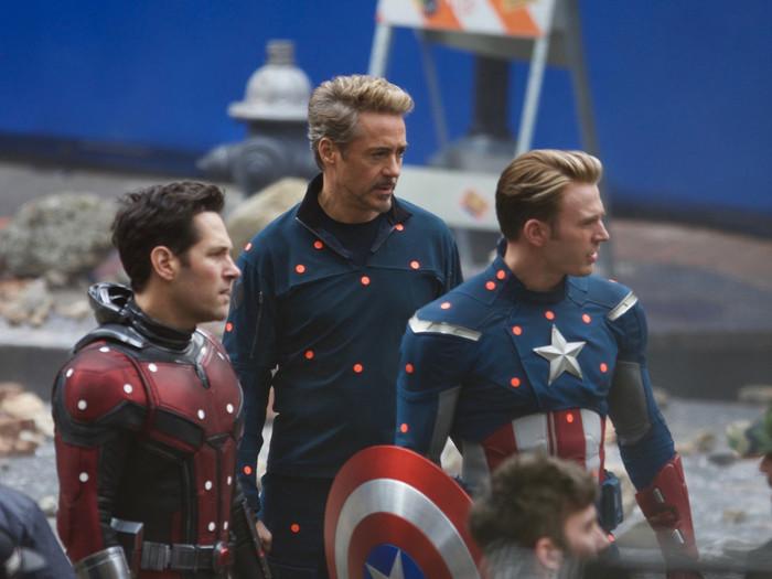 """""""Мстители: финал"""". Создание героев Мстители, Комиксы, Железный человек, Танос, Капитан Америка, Съемки, Киносъемки, Видео, Длиннопост"""