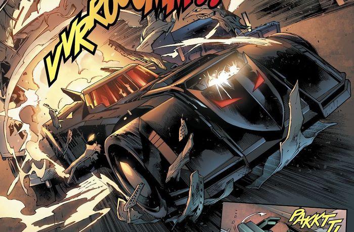 Потому что он Бэтмэн, ч.9 - Бэтмобиль Супергерои, DC Comics, Бэтмен, Бэтмобиль, Комиксы-Канон, Длиннопост
