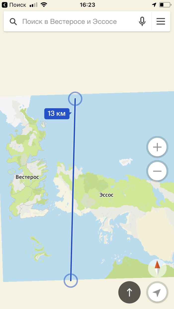 Карта Вестерос и Эссос от 2 Гис Игра престолов, 2гис, Карты, Длиннопост