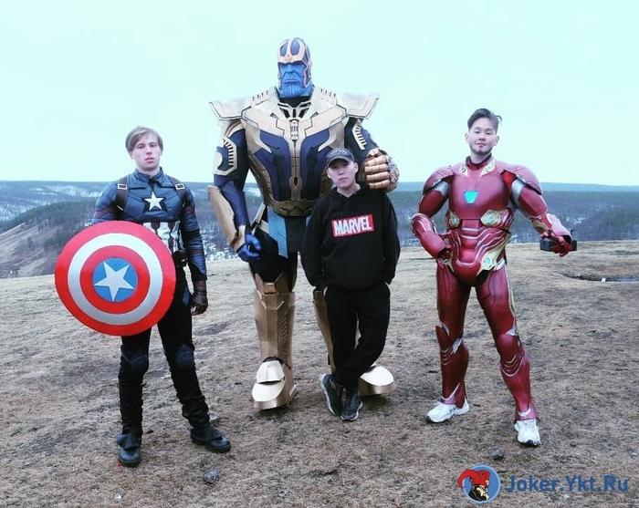 """Якутские фанаты """"Вселенной Марвел"""" пересняли финальную сцену """"Мстителей"""". Якутия, Marvel, Видео, Длиннопост"""