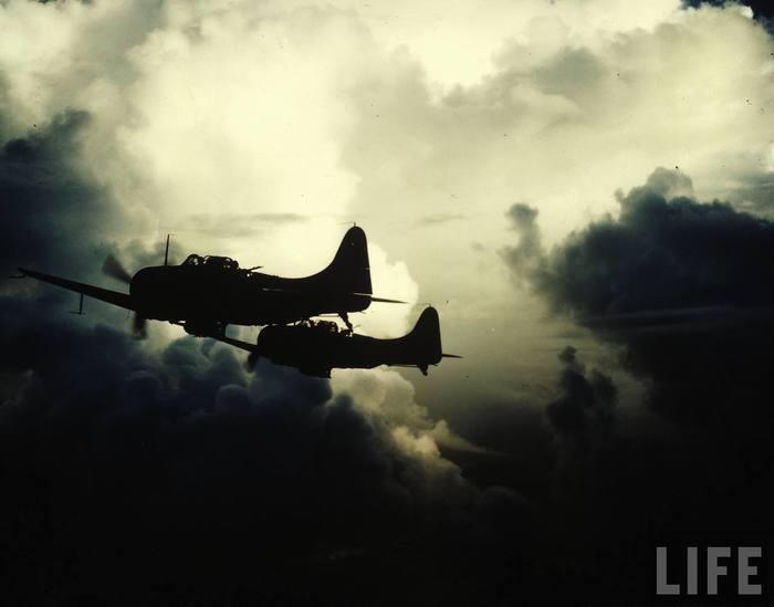 Немного цветных фотографий войны на Тихом океане. Океан, США, Военные, Вторая мировая война, Фотография, Длиннопост