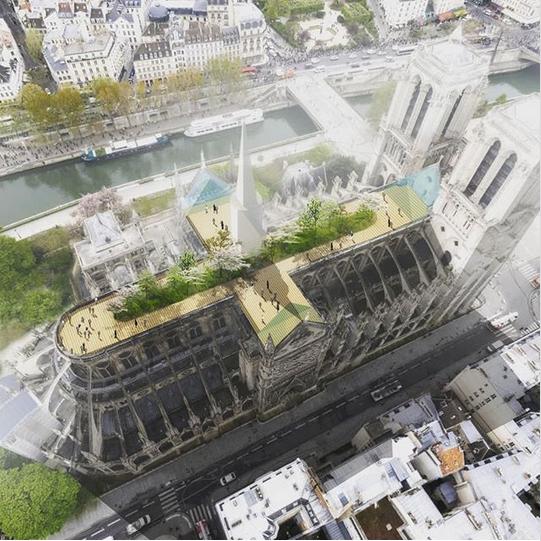 Париж ждет новый бриллиант. Notre Dame De Paris, Париж, Архитектура, Длиннопост