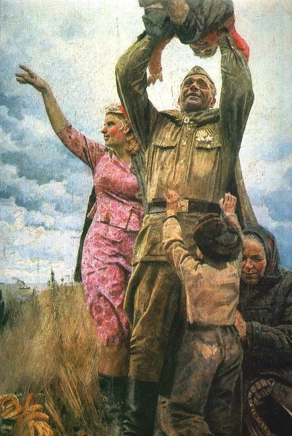 9 мая. Соцреализм. Соцреализм, 9 мая, СССР, Великая Отечественная война, История, Социализм, Победа, Длиннопост
