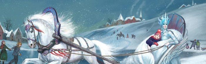 Снежная Королева (альт. версия) Снежная королева, Кай и герда, Сказка, Длиннопост