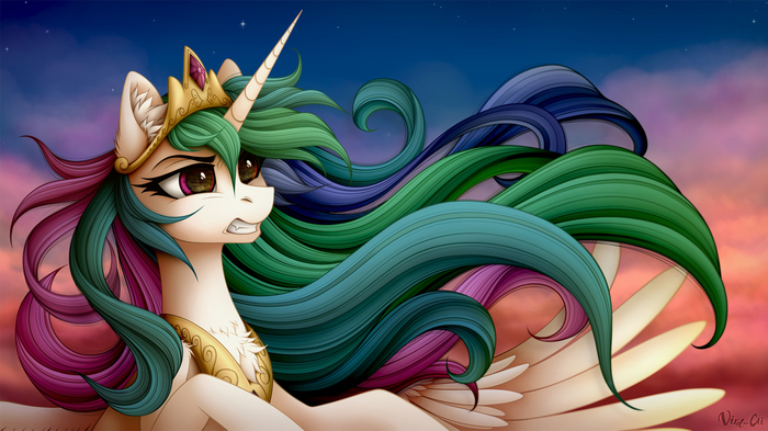 Rise Up And Combat My Little Pony, Princess Celestia, Vird-Gi