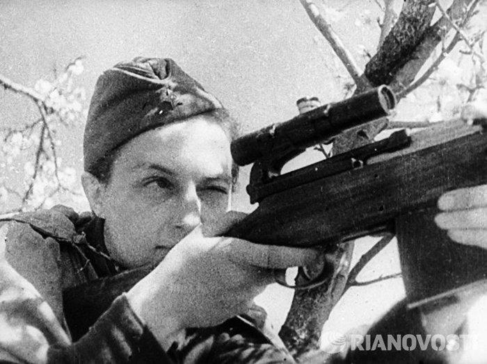 Снайперы победы 9 мая, Снайперы, Длиннопост
