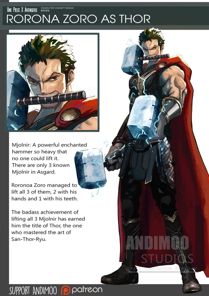Animarvel Marvel, Мстители, One piece, Boku No Hero Academia, Crossover, Длиннопост, Anime Art, Аниме