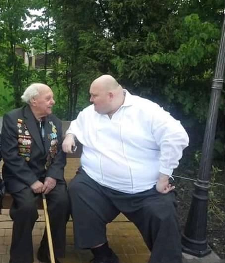 Фото минувшего дня: экс-мэр Жмеринки и ветеран...
