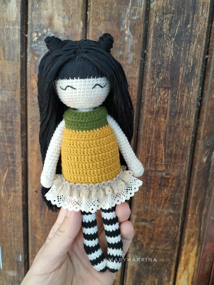 Куколка Elsi Кукла, Вязаные игрушки, Длиннопост, Амигуруми
